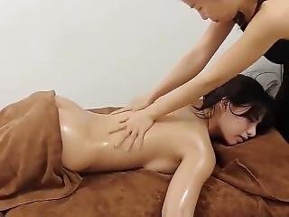 See The Best Back Massage With Sexy Woman Real Voice