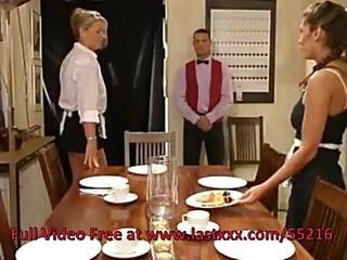 Σερβιτόρα πίπα