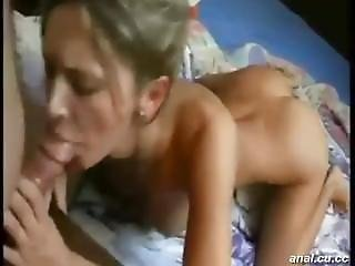 Gorgeous Teen Was Pounded In Doggy Style At Home
