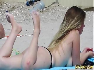 amatoriale, cull, spiaggia, tette grandi, bikini, poppe, stupenda, arrapata, sexy, studenti, Adolescente, a seno nudo, voyeur