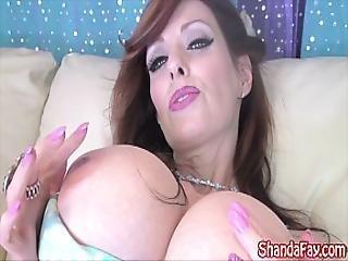 Kinky Milf Shanda Fay Gets Anal Creampie