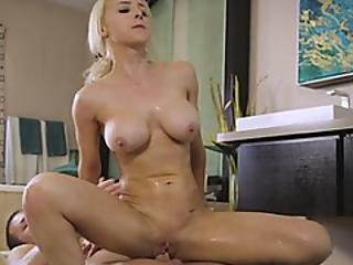 Blonde Hottie Pounded With Hard Cock