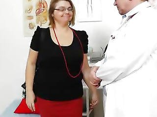 Brunette, Closeup, Enema, Examination, Gyno, Hospital, Lick, Naughty, Nurse, Pussy, Speculum, Spit, Uniform