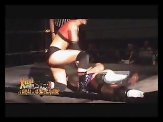 Awesome Wrestling Jenny Sjodin Britani Knight