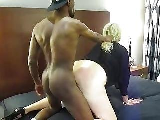 Young Black Stud Makes Milf Moan Loud