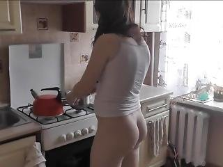 Dubarry Morning Begin With Pussy Masturbation. Big Ass, Big Boobs, Close-up
