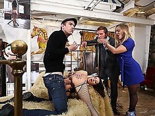 Mature Brunette Babe Valentina Gets Banged By Danny