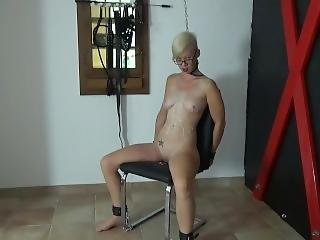 Submissive German Teen Tortured In Dungeon