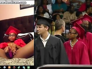 Ebony Teen Graduation Cute Mode Slut Mode