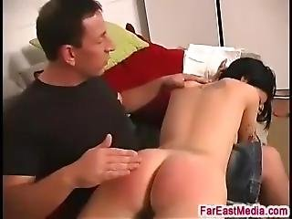 Allie Spanked And Ass Fucked