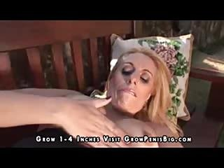Mature Curvy Blonde Fucked In The Ass Outdoors