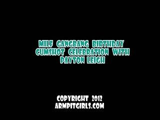 Payton Leigh Armpit Gangbang