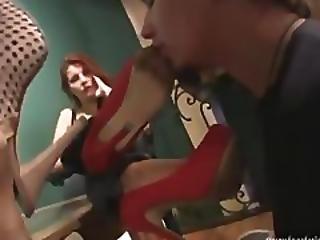 Shoe Licking