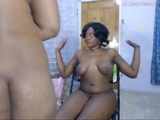 Jamaican Webcam Trio Pussy Play