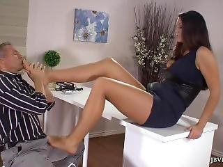 Long Legs And Footworship Alison Tyler