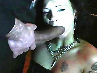 Sexy Dungeon Blowjob