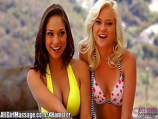 Allgirlmassage Teeny Sara Luvv And Chloe Foster