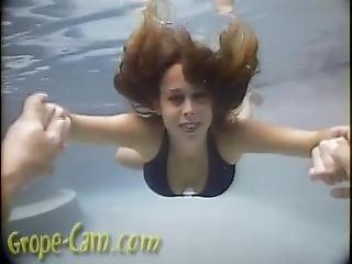 Kaleb Underwater Grope