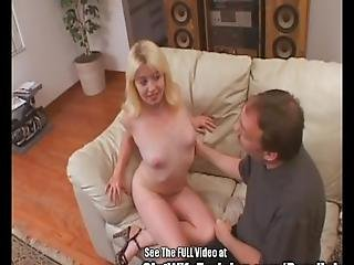Blonde Cutie Submissive Wife Swallow Fucked
