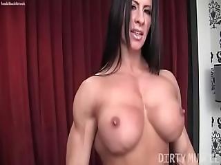 Female Bodybuilder Angela Salvagno Loves Having A Cock