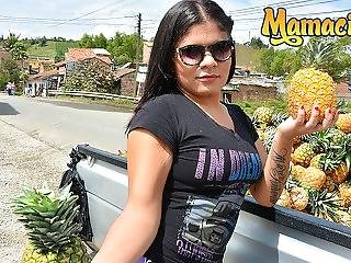 Mamacitaz - Petite Colombian Amateur Teen Picked Up To Ride Cock