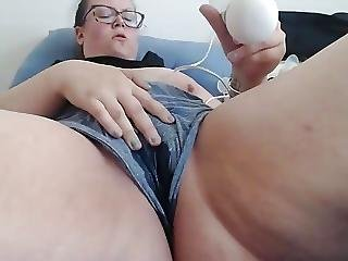 She Soaks Boyshorts While Cumming