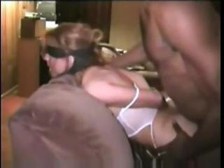 Xhamster.com 348155 Blindfolded Republican White Wife Gets Doggystyle From Negro Lover