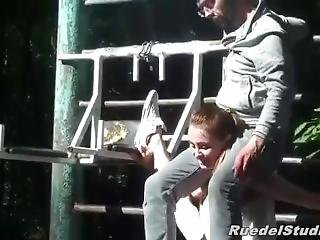 Girl Lift And Carry Guy