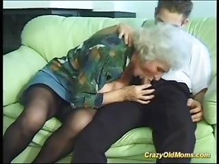 Old Mom Gets Fucked Hard With A Big Cock