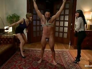 Maitresse Madeline Cockold Her Boyfriend With A Woman