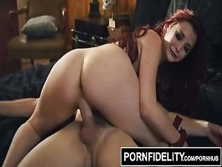 Pornfidelity Amber Ivy Brutally Fucked And Creampied