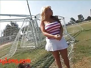 Donny Long Spilts Open Big Titty Milf Milan While Her Husban