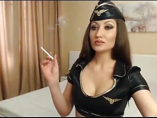 Sweet Babe Smoking