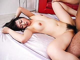 Busty Nozomi Hazuki Enjoys Two Cocks In Her Holes