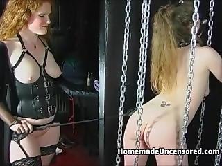 amateur, bondage, couple, femdom, fétiche, à la maison, tourné à la maison, lesbienne