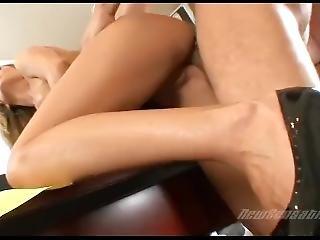 Super Hot Blonde Secretary Fucked In Office