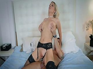 Brads Stiff Cock Romping Blake Morgans Pussy On Top