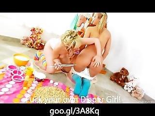 Anal, College, Diaper, Enema, Lesbian, Milk