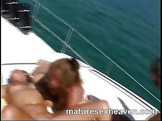 Grannys More Yacht Orgy Part 2