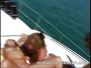 Grannys More Yacht Orgy Part 2