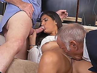Horny Hottie Chick Victoria Valencia Getting Her Pussy Banged