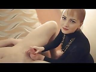 Lilu Does Erotic Handjob Massage While Hubby Films