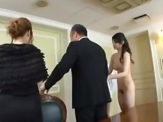 Azumi Mizushima Fucks At A Wedding Party