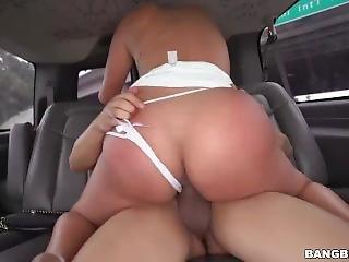 Cristal Caraballo Gets Fuck On The Bus