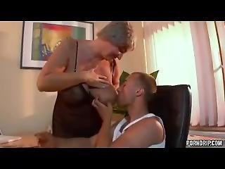 Granny Is Fucked By Guy In The Office - More At Porndrip.com