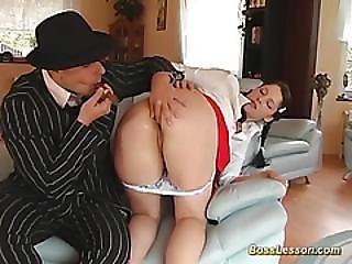 anal, boss, mignonne, deepthroat, dans la tête, orgasme, brusque, rasée, fumeur, Ados, Ados Anal