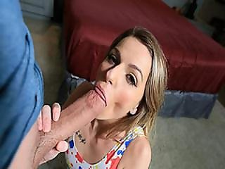 Spinner Alana Summers Eats A Cock As Big As Her Arm