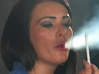 Charley Atwell - Smoking All White 120s And Chain Lightup