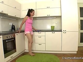 フェラチオ, キス中, キッチン, 舐める, おまんこ, おまんこをなめる, 荒っぽい