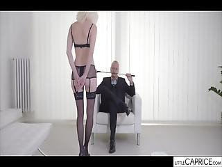 She Is A Really Slave And He Is The Master, In This Video You Can See Who Is The Boss, Cum In Her Face
